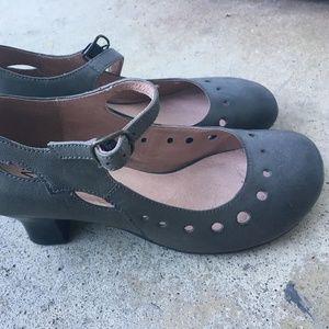 Miz Mooz Grey Designer Heels